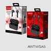 Audífono inalambrico 5.0 IN-EAR AWTWSA5 negro Aiwa