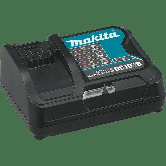 Combo Rotomartillo + Atornillador Impacto + Bolso 12 V CLX220SX1 Makita