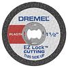 Kit 5 Discos corte Plástico EZ-Lock EZ476 Dremel