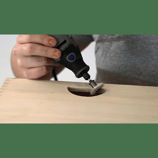 Cepillo Abrasivo Para Detalles Gr 120 EZ472SA EZ Lock Dremel