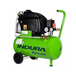 Compresor 24 Lt 2HP Vento 2000 Pro + Kit Indura