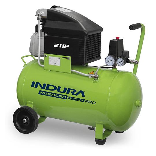 Compresor 50 Lt 2HP Huracán 1520 Pro 2 + Kit Indura