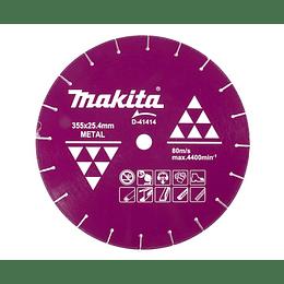 "Disco Diamantado 14"" Para corte metal D-41414 Makita"