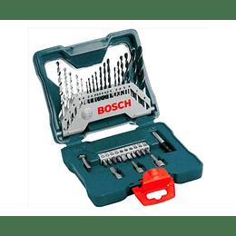 Set Brocas y Puntas 30 Pcs X33 X-Line  Bosch