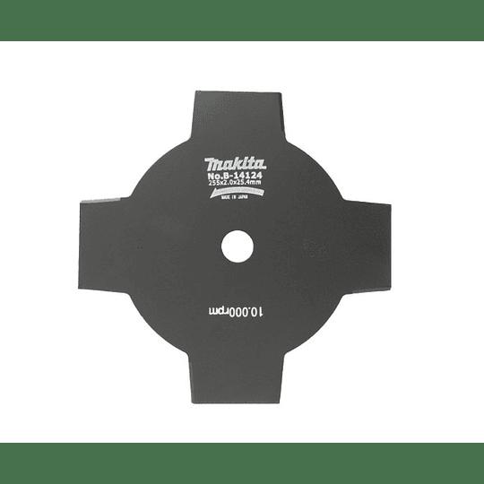Disco 4 Puntas P/Desbrozadora 255 mm B-14124 Makita