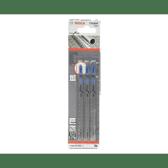 Set 3 Hojas Calar Flexible Metal T318AF Bosch