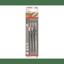Set 3 Hojas Calar Madera Progressor T234X Bosch