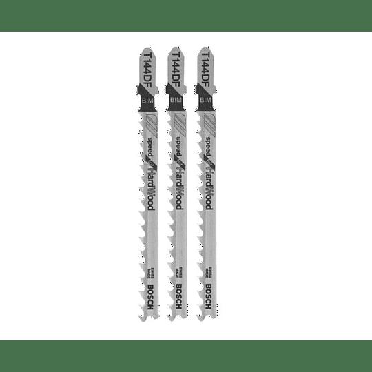 Set 3 Hojas Calar Madera Corte Rápido T144DF Bosch