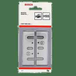 Juego 2 cuchillos cepillo 82 mm 26077000193 GHO 20-82 Bosch