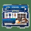 Kit 18 Accesorios EZ686-01 Lijar/Esmerilar Dremel