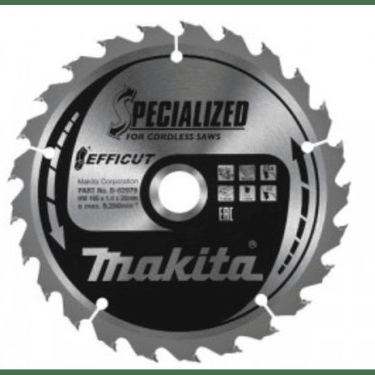 Disco Sierra Efficut Metal 136mm X 30t B-69381 Makita