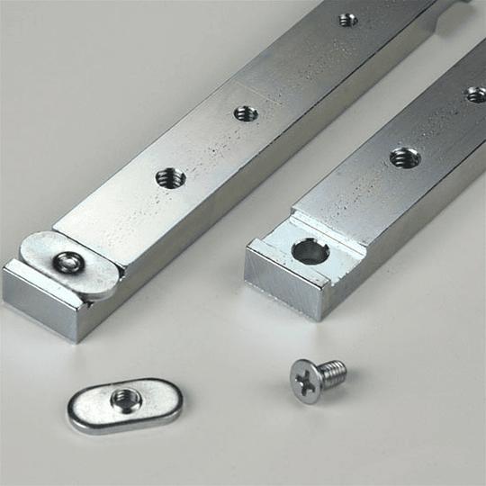 Deslizador de aluminio 18