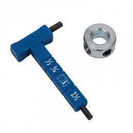 Kit tope y llave hexagonal KHPA330 Kreg