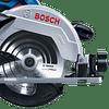 Sierra circular Inalámbrica 18 V GKS 18V-57 sin batería ni cargador Bosch