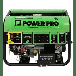 Generador 2.8kva 3 en 1 GPL/GN/Gasolina DG3000 Power Pro