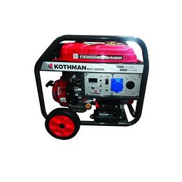 Generador Gasolina 8 kva P/Eléctrica SUA13000CE Kothman
