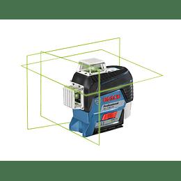 Nivel láser de líneas Verdes GLL 3-80 CG+ Batería Li Professional Bosch