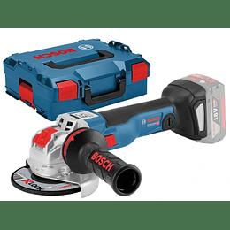 Esmeril Angular Inalámbrico GWX 18V-10 PC 18V Sistema X-LOCK - Bosch Professional