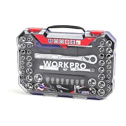 Set de dados | 63 piezas W003070 Workpro
