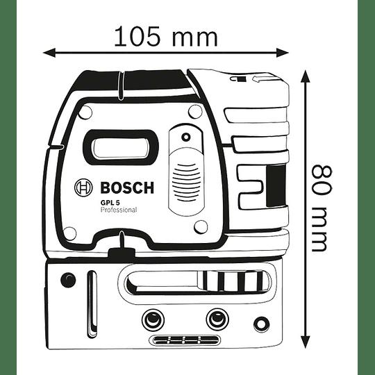 Nivel láser de puntos Bosch GPL 5 Professional