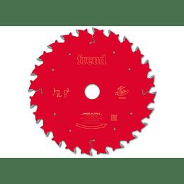 Disco Sierra Circular 165mm 24 Dt para Madera corte Rápido FR07W001H  Freud