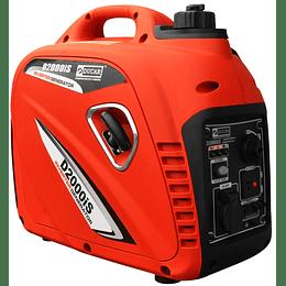 Generador eléctrico gasolina inverter 2KW / 2.7HP D2000I Ducar
