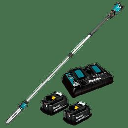 Podador de Altura Inalámbrico DUA301PT2 Makita + Baterías + Cargador