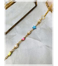 BODY CHAIN COLORES - BCM0402