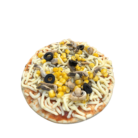 PIZZA VEGETARIANA INDIVIDUAL
