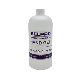 ALCOHOL GEL 1 LITRO 70%