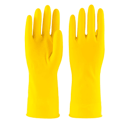 GUANTE LATEX DOMESTICO AMARILLO