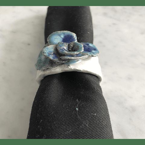 Servilleteros flor