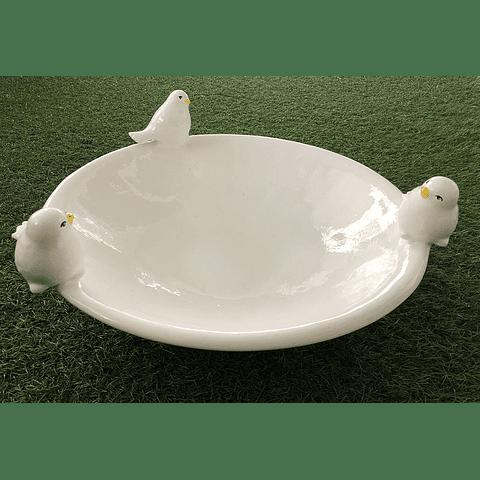 Fuente pájaros