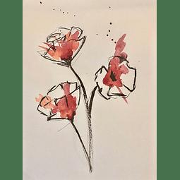 Flor rojo