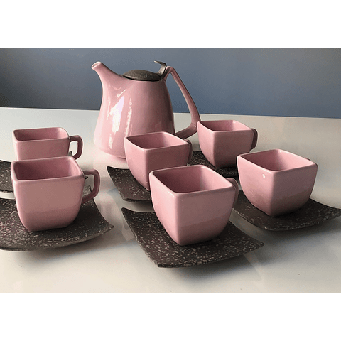 Set Tetera con 6 tazas