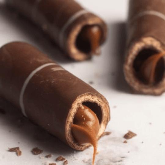 BARQUILLO BAÑADO EN CHOCOLATE