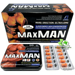 Potenciador Sexual Maxman Iv 100% Natural Efectivo