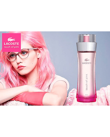 Perfume Lacoste Touch of Pink 90 ml mujer