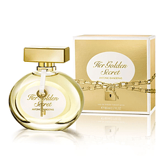 Perfume para  Mujer Her Golden Secret de Antonio Banderas 80 ml