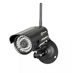 Camara Ip Exterior 1mp Pt Negra, Wifi 35led Ev9330