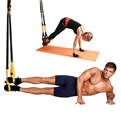 Kit Entrenamiento En Suspension TRX