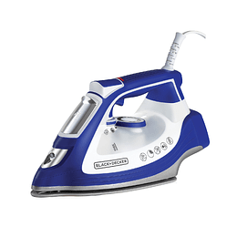 PLANCHA BLACK + DECKER AZUL IR3001-CL