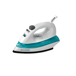 PLANCHA BLACK + DECKER AZUL IRBD100-CL