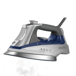 PLANCHA BLACK + DECKER AZUL D3031-CL
