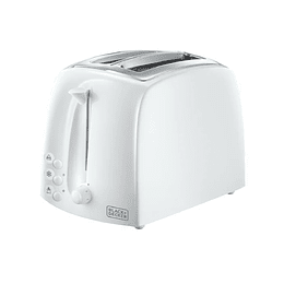 TOSTADOR BLACK + DECKER BLANCO TR21640-CL