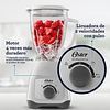 Licuadora Oster® con vaso de vidrio y control de perilla BLSTKAGWRD