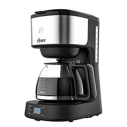 Cafetera programable Oster® 8 tazas en acero inoxidable BVSTDC10SS