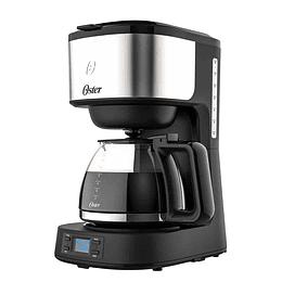 Cafetera programable Oster® 8 tazas en acero inoxidable BVSTDC10SS