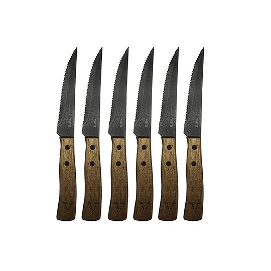 Set Cuchillos 6 Piezas  Marca Wayu
