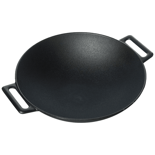 Wok Redondo 30,5cm De Hierro Fundido Marca Jim Beam